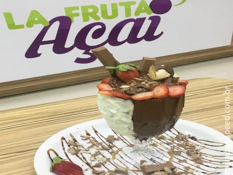 Os apaixonados por açaí tem mais um motivo para se deliciar em Campo Grande-MS