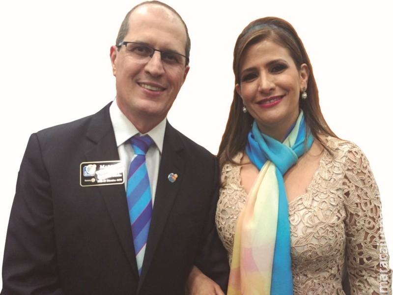 Governador do Rotary inicia visita oficial aos clubes de Dourados