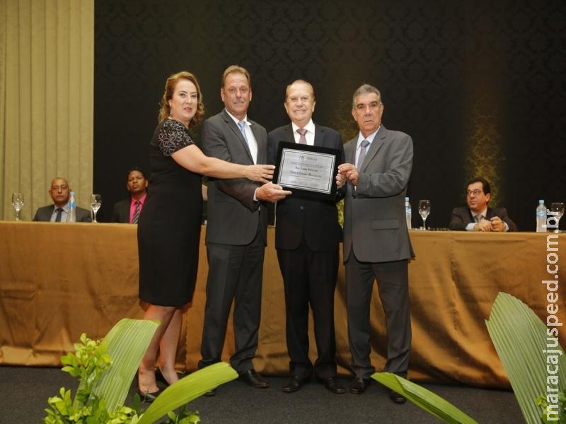 Presidente da Coamo recebe título de cidadania honorária em Maracaju e Sidrolândia, no Mato Grosso do Sul
