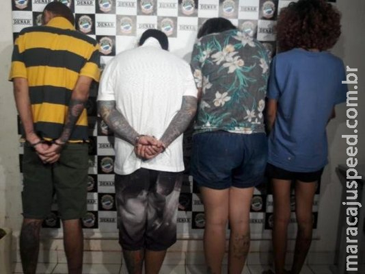 """Família presa mantinha laboratório e """"e-commerce"""" de droga no Terra Morena"""