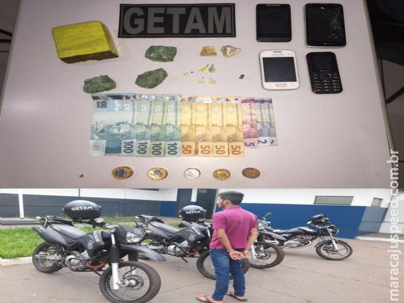 Maracaju: GETAM prende homem por tráfico de drogas na Vila Juquita