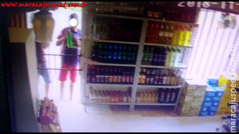 Maracaju: Após furto de bebida alcóolica em conveniência, jovens são presos enquanto fumavam maconha
