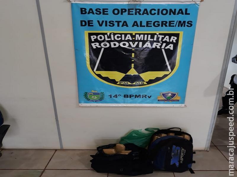 Maracaju: PRE apreende adolescente com 13 kg de maconha em Vista Alegre