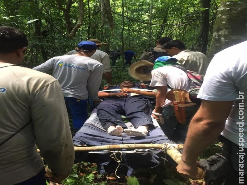 Piloto se perdeu em mata após queda de avião, se alimentou de bolachas e usou capacete como proteção