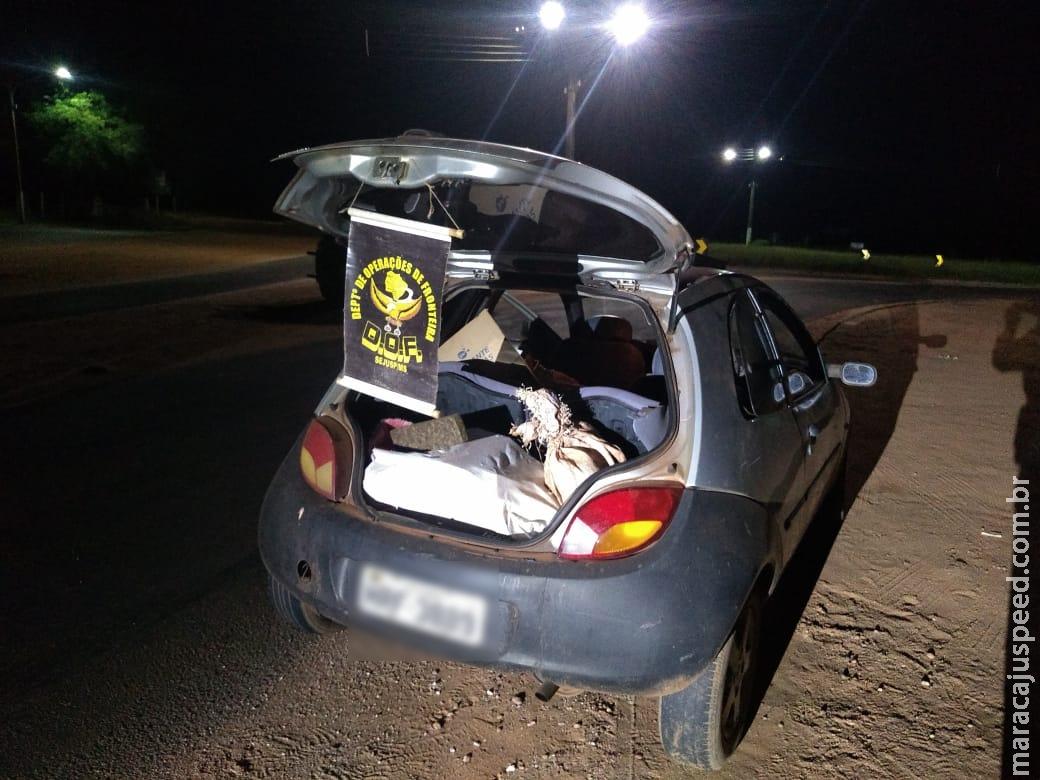 DOF prende homem por Tráfico de Drogas na MS-164