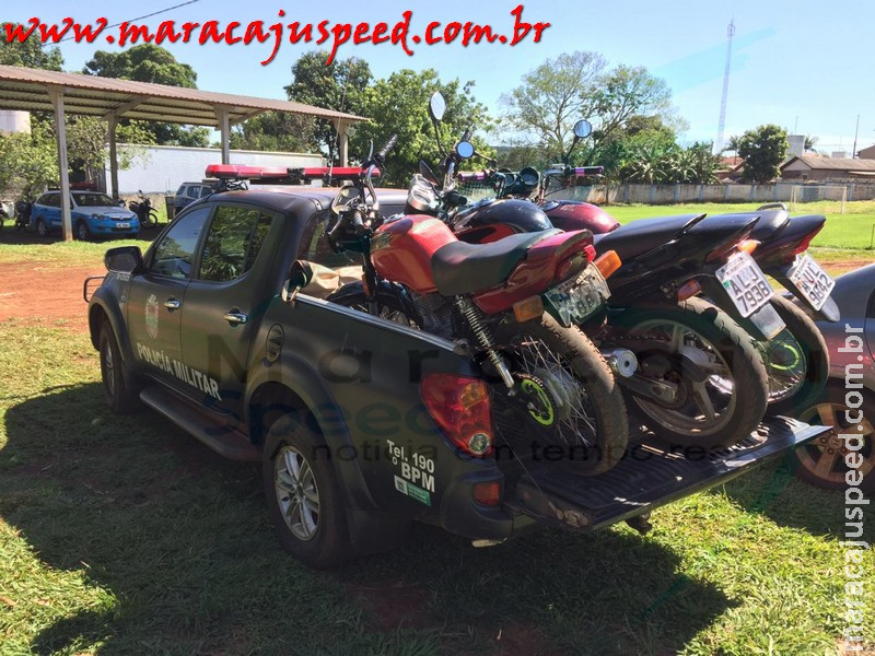 Maracaju: Jovens são flagrados empinando motocicleta no bairro Alto das Palmeiras