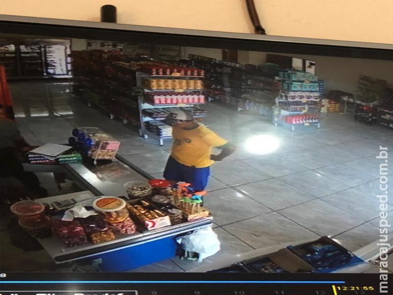 Maracaju: Polícia Militar com apoio da Polícia Civil prendem em flagrante autor de roubo a mercearia