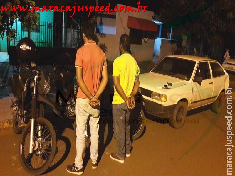 Maracaju: Policia Militar recupera veículo roubado após fatos ilícitos
