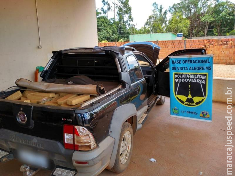 Maracaju: PRE Base de Vista Alegre apreende mais de 600 kg maconha
