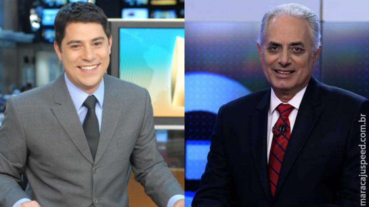 CNN Brasil estuda contratar Waack, Evaristo Costa e outros ex-Globo