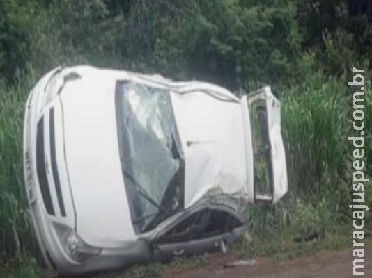 Falta de atenção deixa 4 feridos em acidente na BR-163