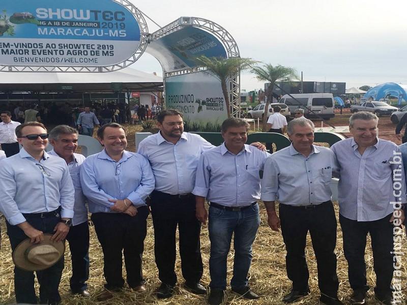 Maracaju: Na abertura do Showtec 2019, Longen destaca estrutura do Senai para atender o agronegócio