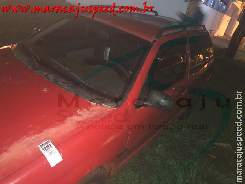 Maracaju: Polícia Militar apreende 60 pneus contrabandeados dentro de veículo próximo a saída para Campo Grande