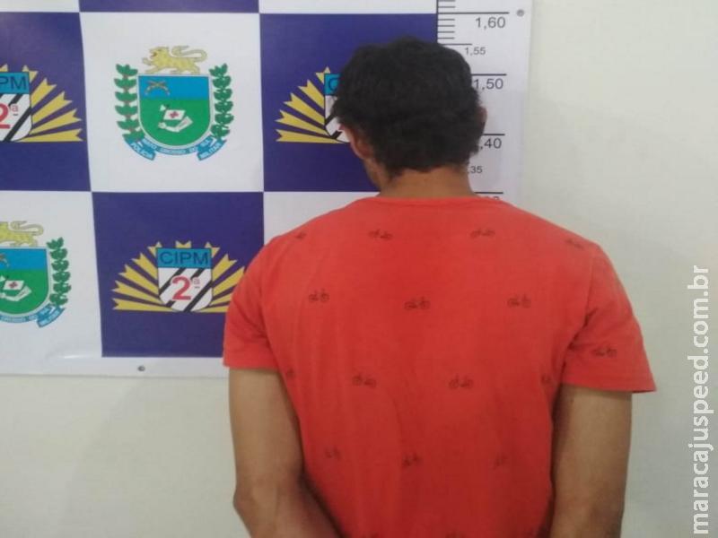 Maracaju: Polícia Militar prende autor de furto em flagrante pelo furto de aparelhos celulares