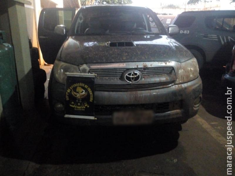 Naviraí: DOF recupera veículos roubados e prende todos os criminosos do sequestro em Ivinhema