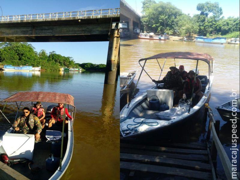 PMA e Bombeiros encontram corpo de criança de 6 anos desaparecida no rio Miranda
