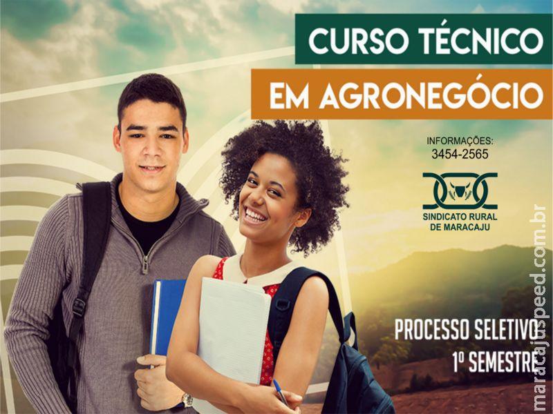 SENAR abre 30 vagas para curso técnico em agronegócio para Maracaju