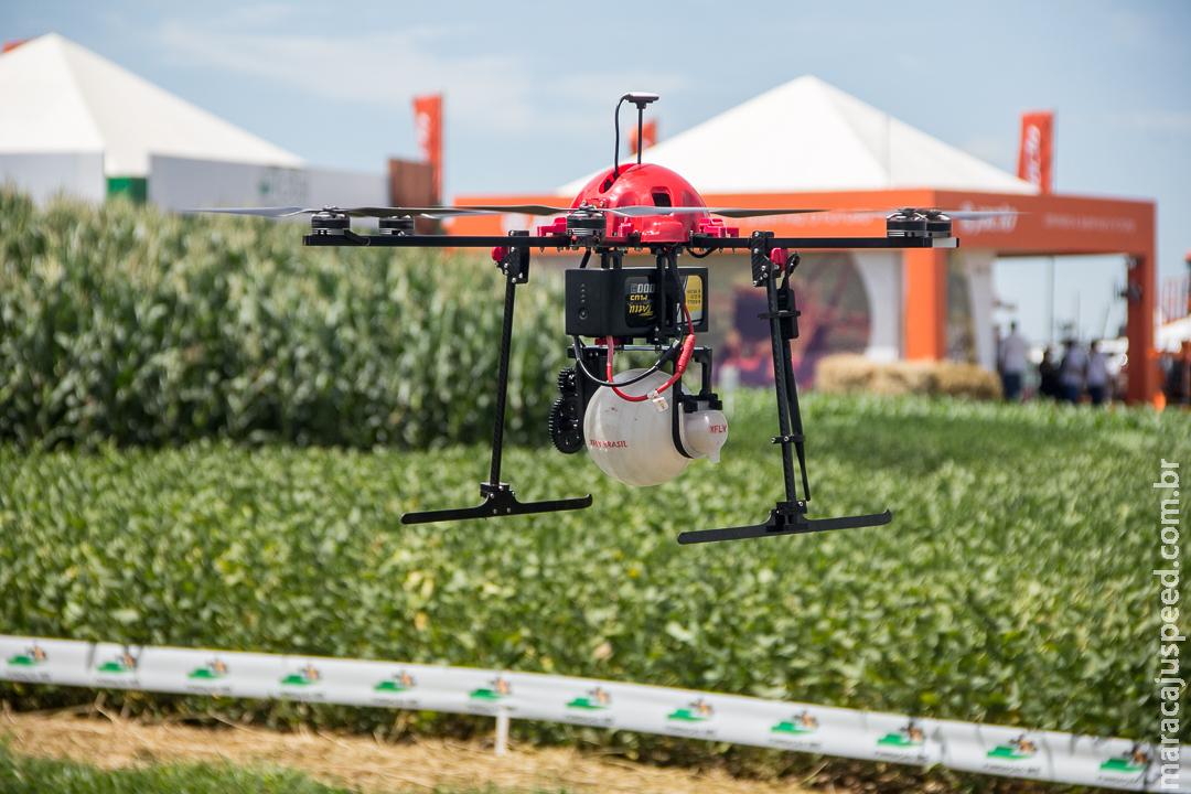 Uso de drones na agricultura aumenta rentabilidade e reduz tempo de trabalho