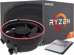 Maracaju: Pc Gamer Ryzen 7 1700, Mother Board Asus X470 e Gigabyte RX 580