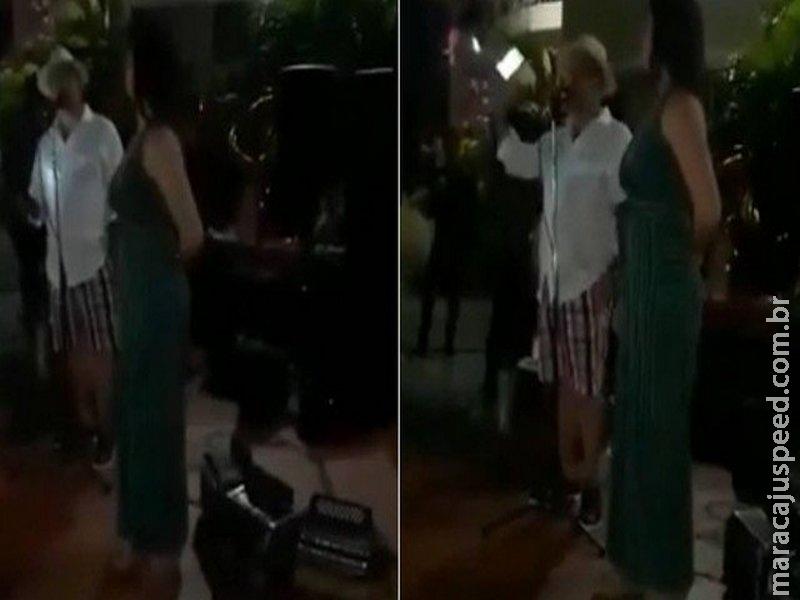 Chá revelação: Homem faz festa para contar que está sendo traído pela esposa na Venezuela