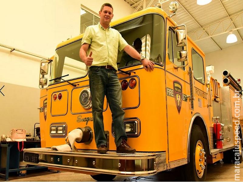 Colecionador de caminhões raros guarda relíquia que atuou no 11 de setembro