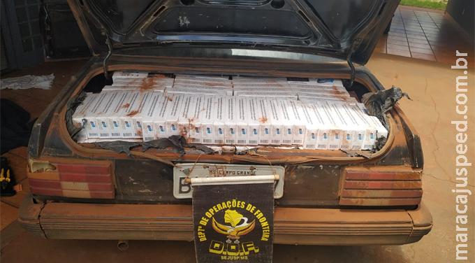 Maracaju: DOF apreende adolescente com 500 pacotes de cigarros