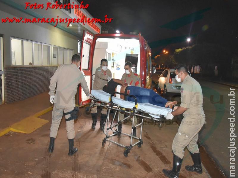 Maracaju: Mulher esfaqueia marido com punhaladas nas costas na Vila Juquita