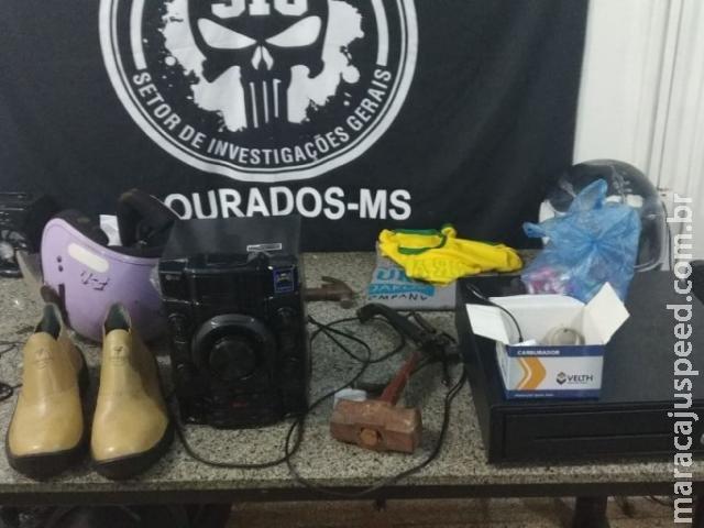 Polícia Civil prende casal que em duas semanas arrombou 14 lojas no centro