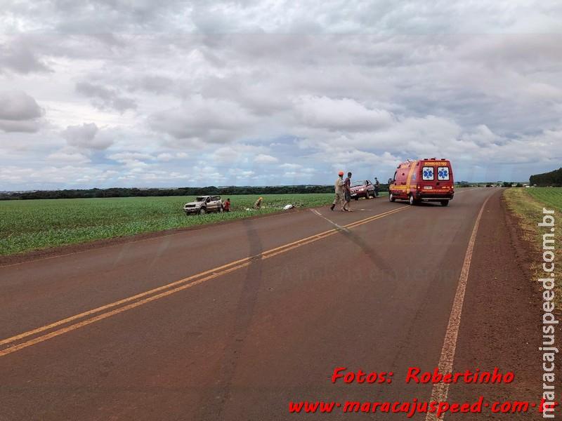 Maracaju: Motorista perde controle de camionete após dormir ao volante