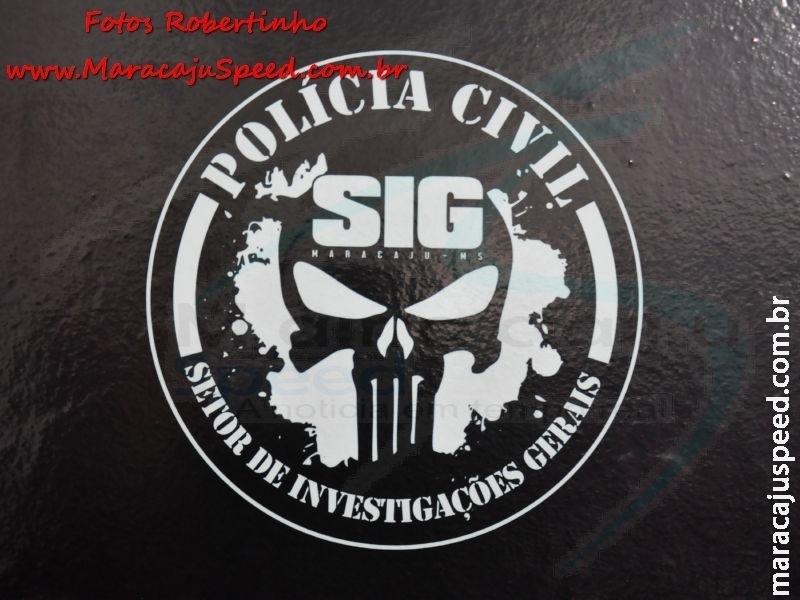 Maracaju: Polícia Civil cumpre mandado de prisão de foragido de Minas Gerais
