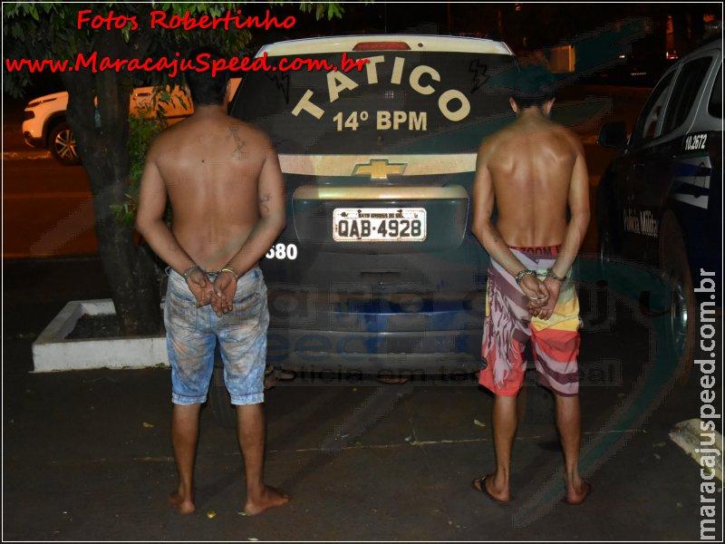 Maracaju: Polícia Militar e Tático apreendem arma de fogo cal. 32 após acompanhamento tático de veículo