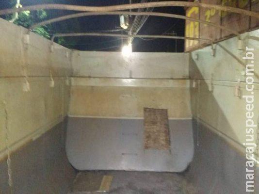 Motorista preso com 100 kg de cocaína diz que precisava de dinheiro para conserto de caminhão