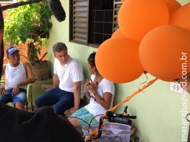 """No Rouxinóis, dona Zilda ganha de Luciano Huck """"O Melhor Dia da Sua Vida"""""""