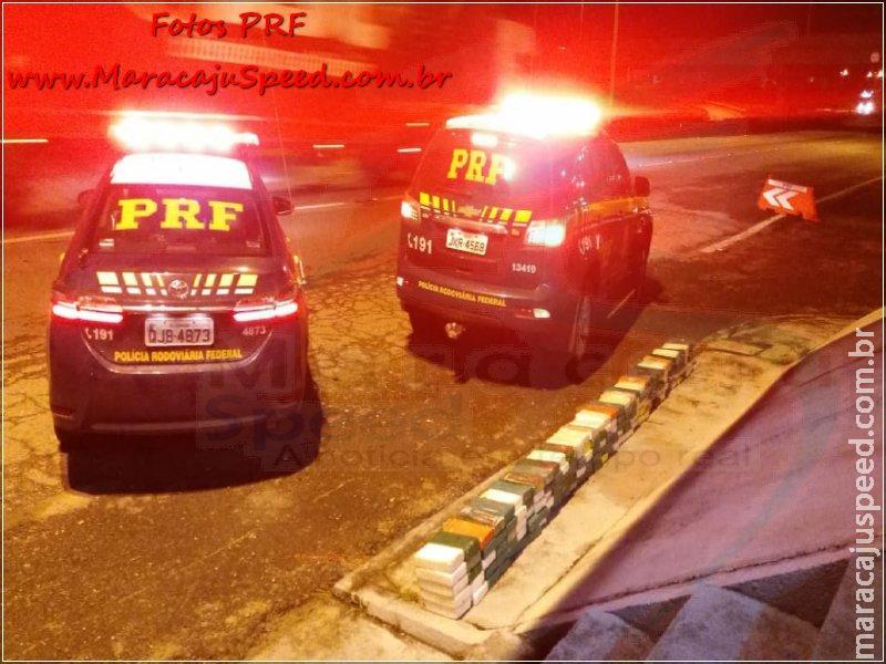 PRF/SP apreende 184,90 kg de cocaína que estava em caminhão conduzido por morador Maracajuense