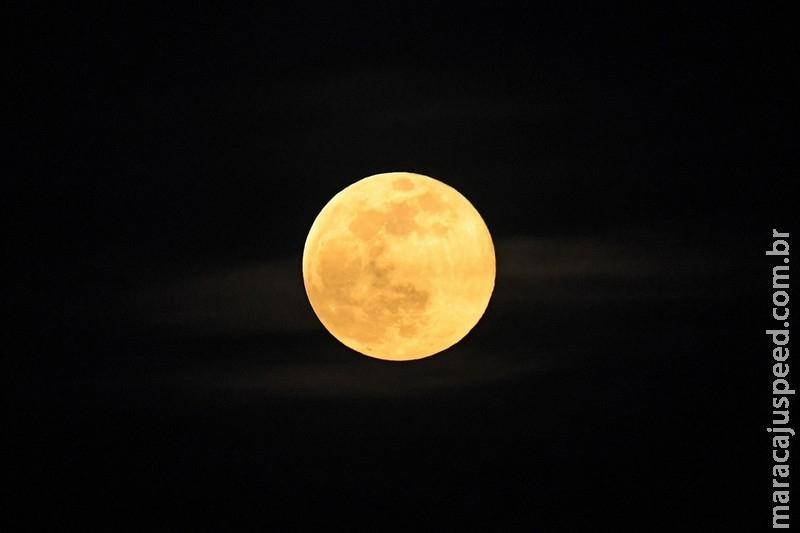 """Terceira """"superlua"""" do ano poderá ser vista hoje nos céu de MS"""