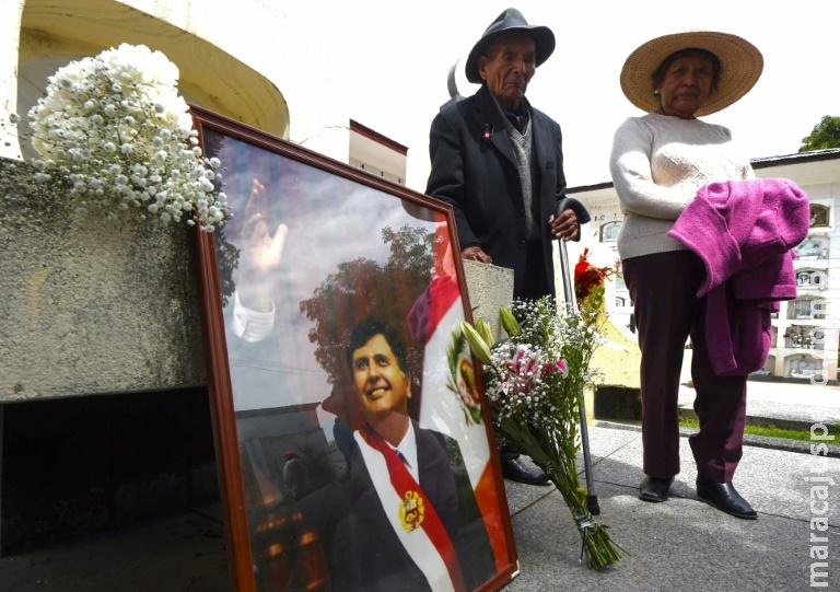 Ex-presidente do Peru Alan García nega acusações de corrupção em carta de despedida
