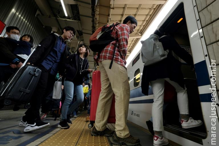 Japão inicia período excepcional de dez dias de férias