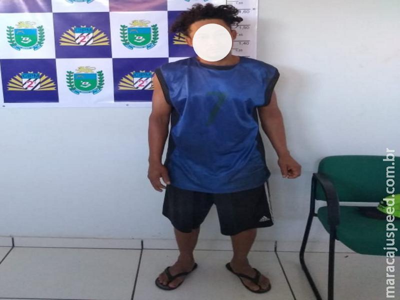 Maracaju: Homem com mandado de prisão em aberto ameaça Sargento da PM
