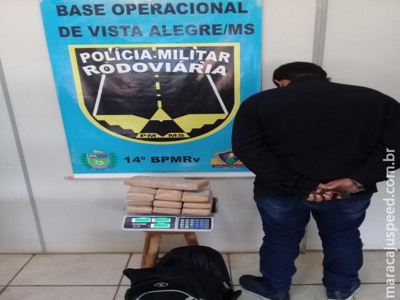 Maracaju: PMR prende homem por tráfico de drogas na MS-164