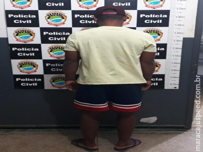 Maracaju: Polícia Militar cumpre mandado de prisão. Homem agiu de forma suspeita