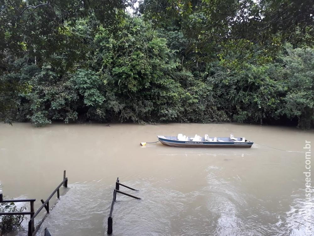 Rios de Bonito estão turvos após chuvas; secretário diz que