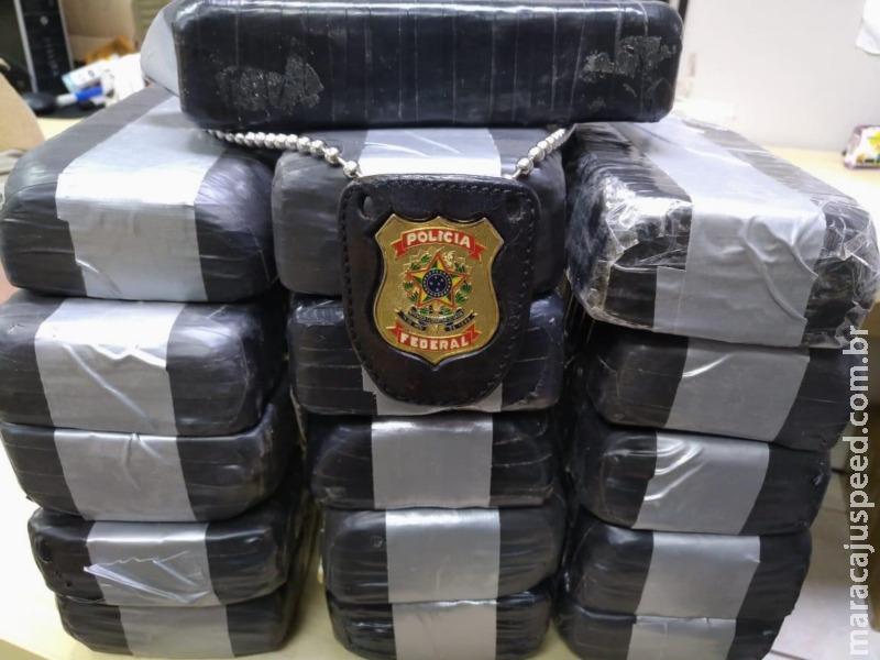 Boliviana é presa com cocaína em MS