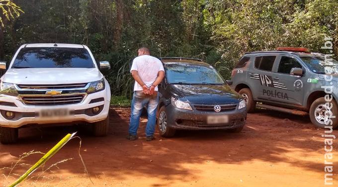 Camionete furtada que seria entregue no Paraguai foi recuperada pelo DOF na região de Dourados