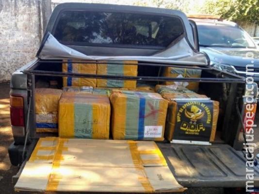 DOF apreende 3 carros com contrabando que seria vendido em MG e SP