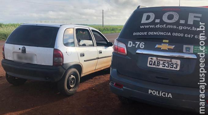 Maracaju: Mulheres que transportavam drogas para Goiás foram presas pelo DOF