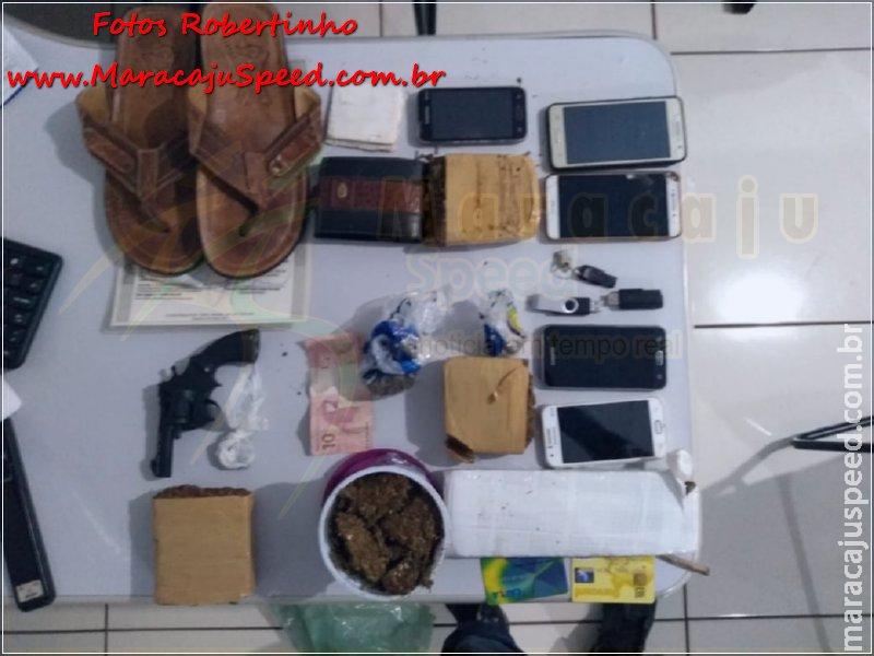 Maracaju: Polícia Militar e Polícia Civil fecham pontos de vendas de drogas no Conjunto Inacinha Rocha
