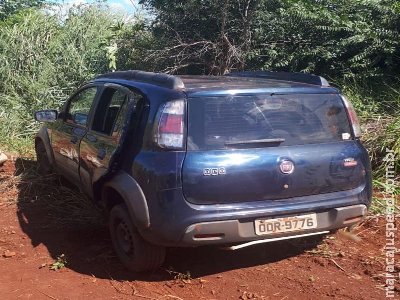 Maracaju: Polícia Militar recupera veículo tomado em roubo na Rua Major Carlos da Silva