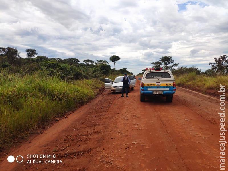 Maracaju: Traficantes fogem da Polícia Militar Rodoviária e abandonam veículo carregado com 883 kg de maconha