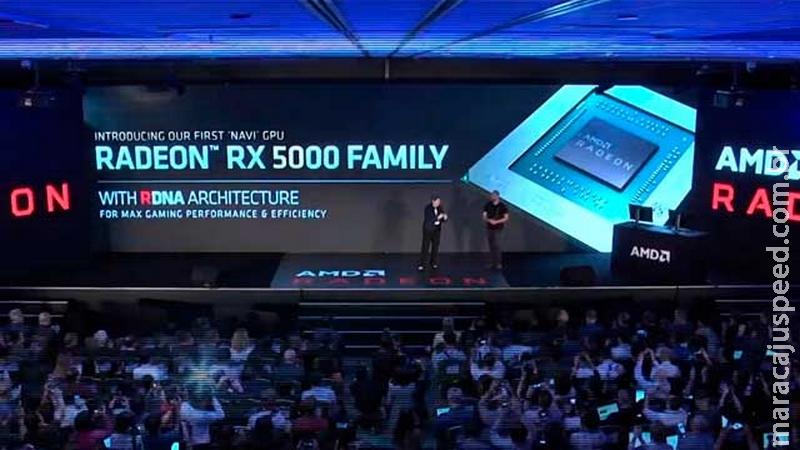 Placas RX 5000 são anunciadas pela AMD, a nova geração Navi com a tecnologia RDNA