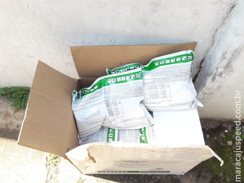 PMA autua em R$ 50 mil contrabandista preso por Policiais Militares do 4º Batalhão com 1.400 kg de agrotóxicos